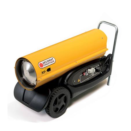 Chauffage fioul à combustion directe 46 kW