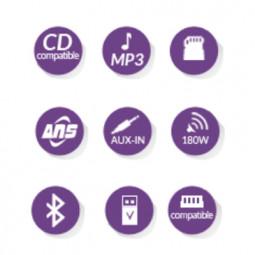 Autoradio CD-USB Bluetooth