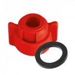Ecrou + joint standard (méplat 11 mm)