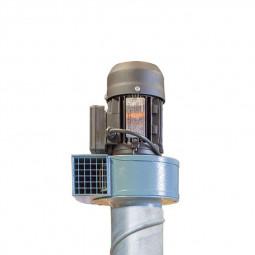 moteur de la lance de ventilation