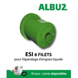 Buse Albuz ESI 6 Filets bleu