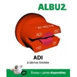 Buse Albuz ADI 110° jaune