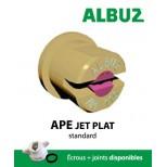 Buse Albuz APE 80° bleu
