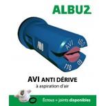 Buse Albuz AVI 110° blanc