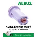 Buse Albuz AVIOC 80° rouge