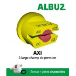 Buse Albuz AXI 110° jaune