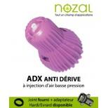 Buse Nozal ADX 120° bleu