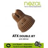 Buse Nozal ATX 120° marron