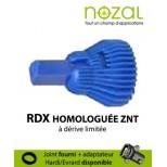Buse Nozal RDX 110° bleu