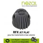 Buse Nozal RFX 110° blanc