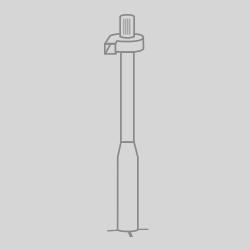 colonne ventilation grise
